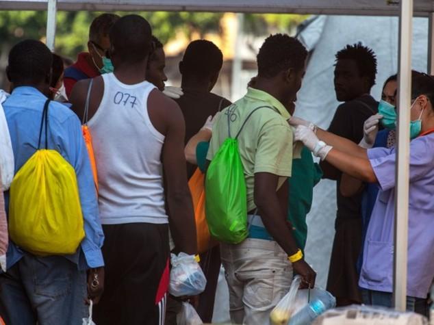 Gorino, barricate contro i profughi