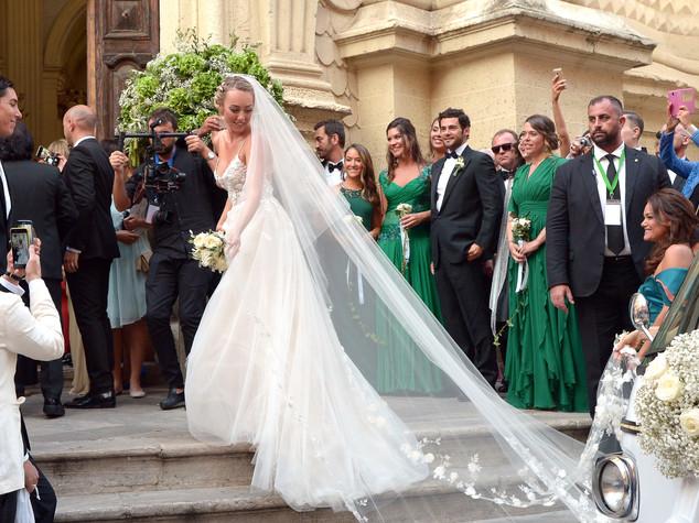 Le nozze di Cristel, tra espadrillas e Felicità