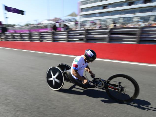 Paralimpiadi, Alex Zanardi oro e Masini bronzo nel ciclismo