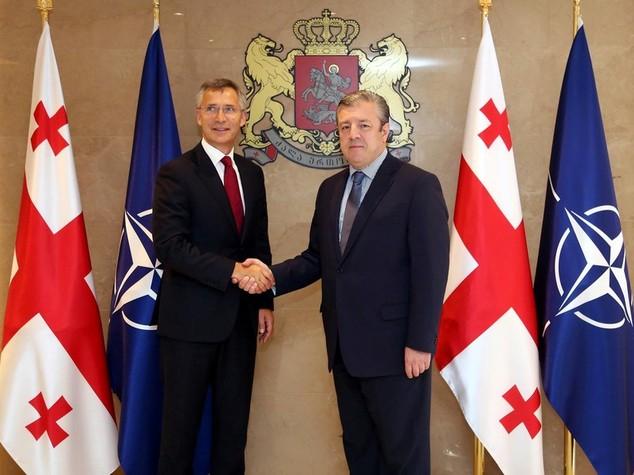 Nato: Georgia rafforza partnership, adesione formale piu' vicina