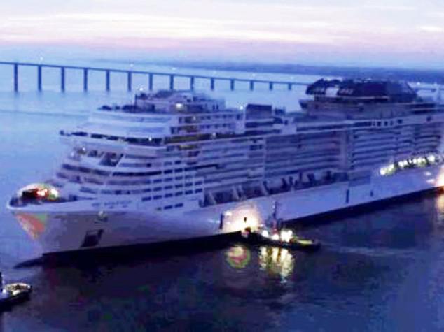 """""""Meraviglia"""" in acqua, ecco la nave da crociera del futuro targata Msc"""