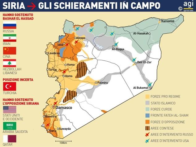 Siria la tregua regge. Tensione con Israele