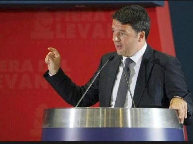"""Fiera Levante, Renzi """"non si blocchino opere pubbliche ma i ladri"""""""