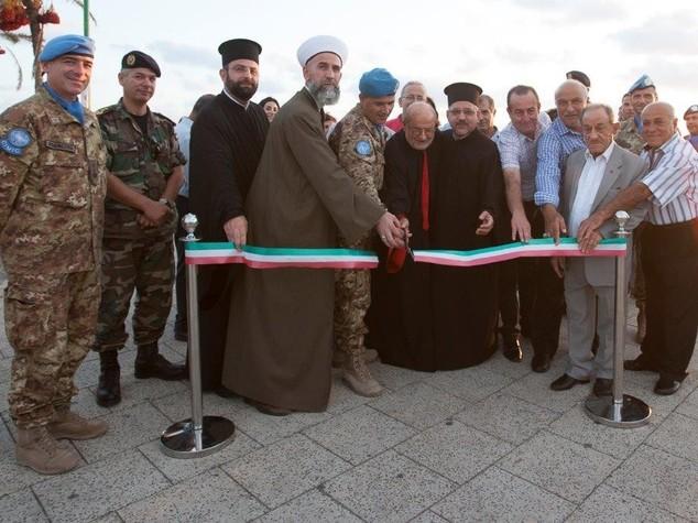 Libano, caschi blu italiani inaugurano due progetti illuminazione