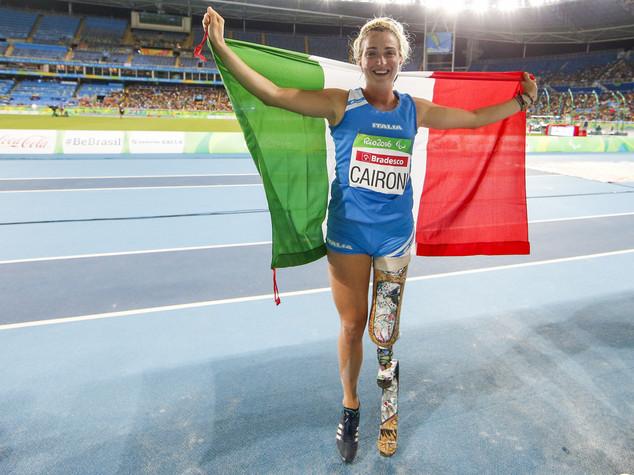 Paralimpiadi, Martina Caironi d'argento nel salto in lungo