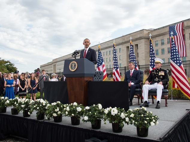 """11 settembre, Obama """"nostra diversità è forza"""""""