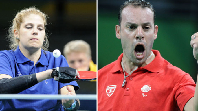 Paralimpiadi, bronzo per gli azzurri Kalem e Rossi nel tennistavolo