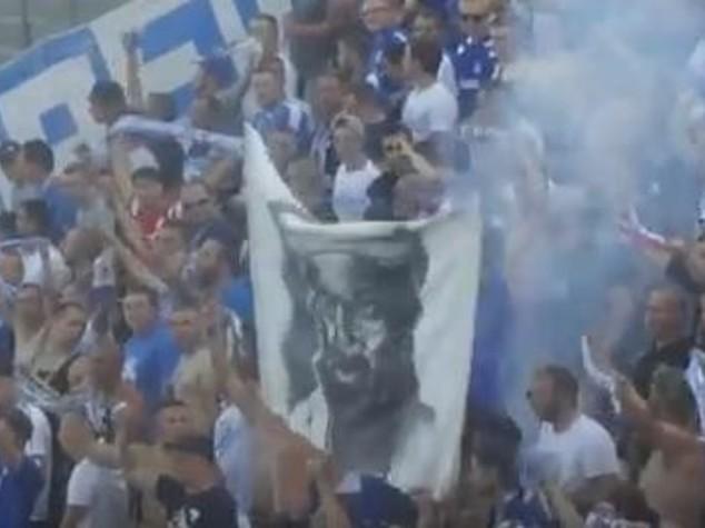 Tifosi tedeschi inneggiano a Bin Laden, bufera sul Rostock