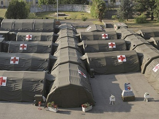 Italy to set up large hospital camp in Libya