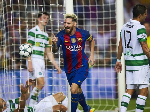 Champions, Barcellona travolge il Celtic 7-0. Bayern ne fa 5