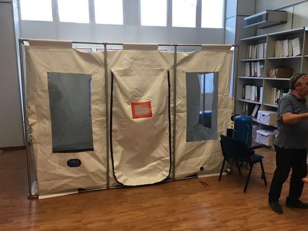 Universita' Calabria: generatore d'azoto per conservare libri