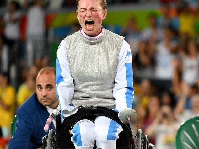 Paralimpiadi, Bebe Vio medaglia d'oro fioretto