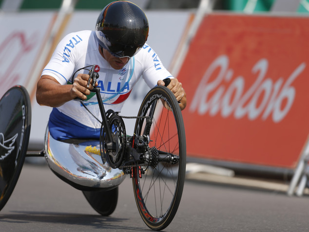 """Paralimpiadi, nuovo trionfo di Alex Zanardi """"dedico oro a Tamberi"""""""