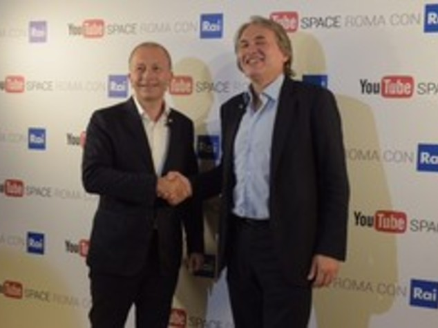 """Rai partner YouTube, Campo Dall'Orto """"porte aperte a creatività"""" - VIDEO"""