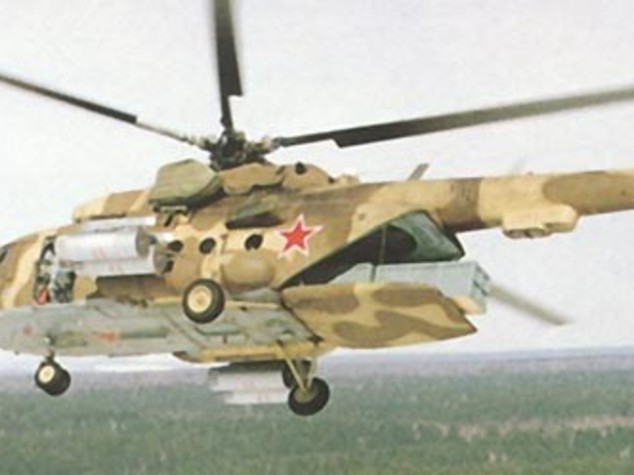 Angola: more military helicopters from Russia by 2017