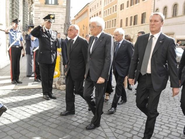 Da Mattarella a Visco, l'omaggio della politica a Ciampi