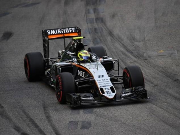 Gp Singapore, Perez penalizzato di 8 posizioni in griglia