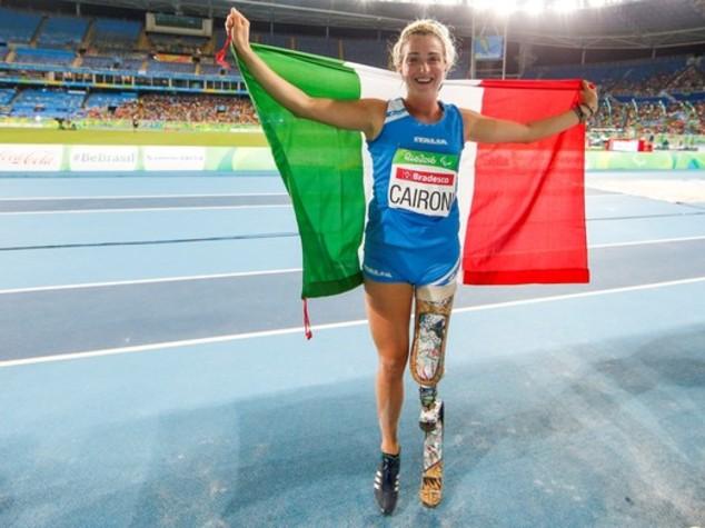 Paralimpiadi, con l' oro di Martina Caironi Italia chiude a quota 39