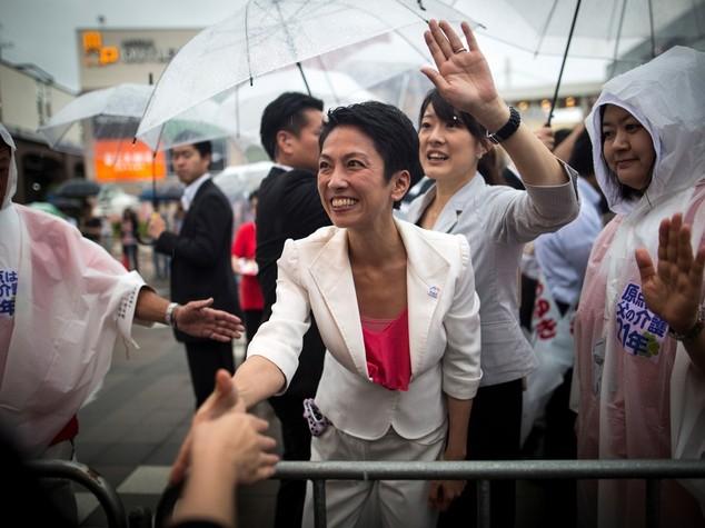 Giappone: una donna alla guida Partito Democratico