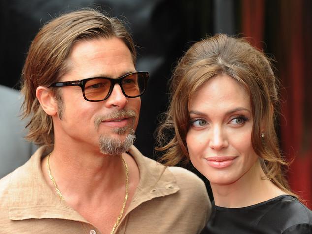 "Brad Pitt ""rattristato"", Angelina vuole tenersi i figli - FOTO"