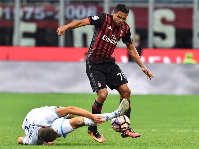 Bacca-Niang, il Milan supera la Lazio 2-0