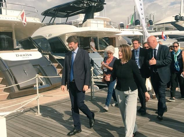 Nautica: Franceschini al Salone di Genova, Traino per turismo