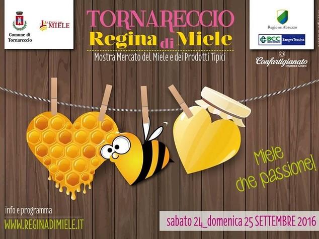 """Eventi: weekend con la rassegna """"Tornareccio Regina di Miele"""""""