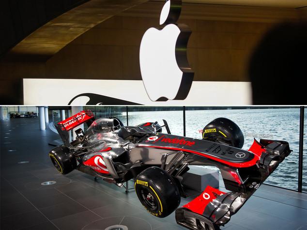 Cupertino in Formula 1, Apple vuole comprare McLaren
