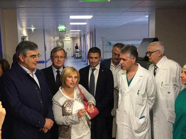 Sanita': D'Alfonso inaugura nuove sale operatorie a Sulmona