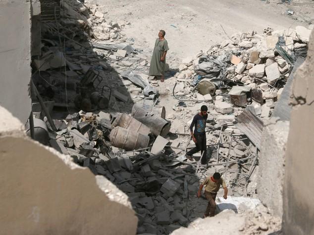 """Onu, """"ad Aleppo in atto crimini di guerra"""""""