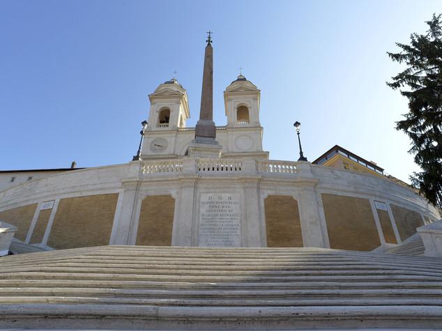 Trinità dei Monti torna ai romani, finito il restauro -  Video
