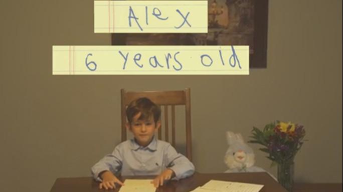 """Bimbo 6 anni scrive a Obama """"ospitiamo da noi piccolo Omran"""""""