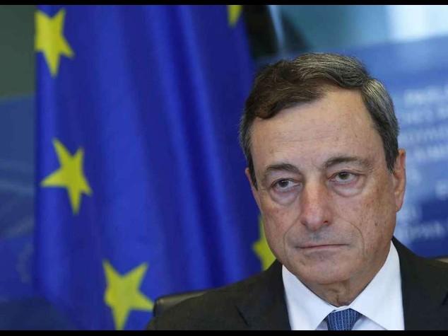 """Draghi, """"la ripresa e' piu' debole"""" """"Da governi subito le riforme"""""""