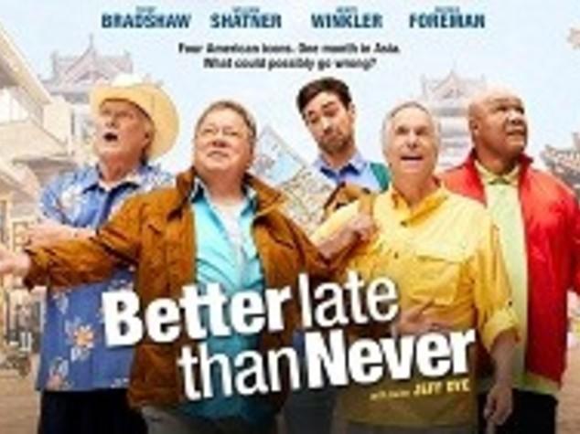"""Better Late then Never"", il travel reality Vip arriva in Italia"