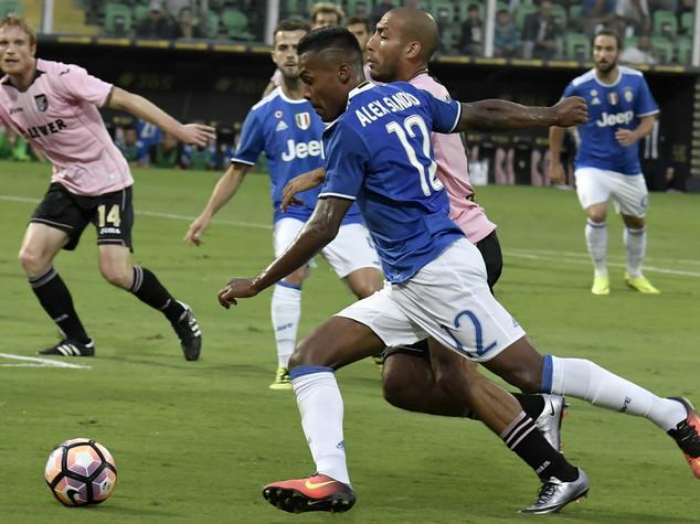 La Juve passa a Palermo, decide autorete di Goldaniga