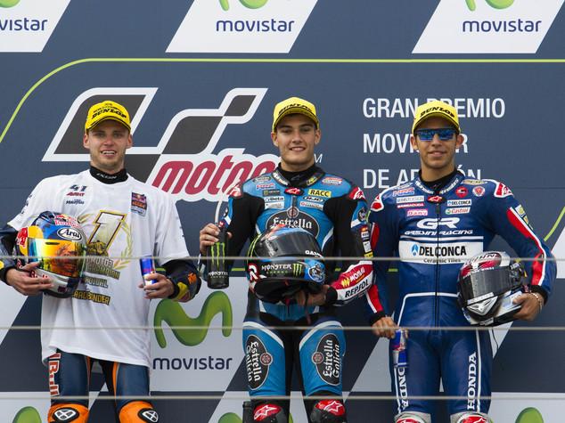 Moto3: GP Aragon, vince Navarro, Brad Binder campione del mondo