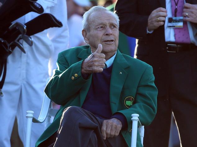 Addio a Arnold Palmer, leggenda del golf