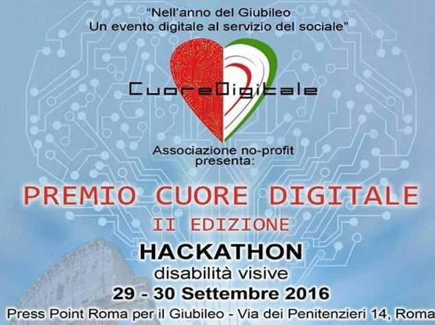 Premio Cuore Digitale, App e tecnologia a servizio di non vedenti