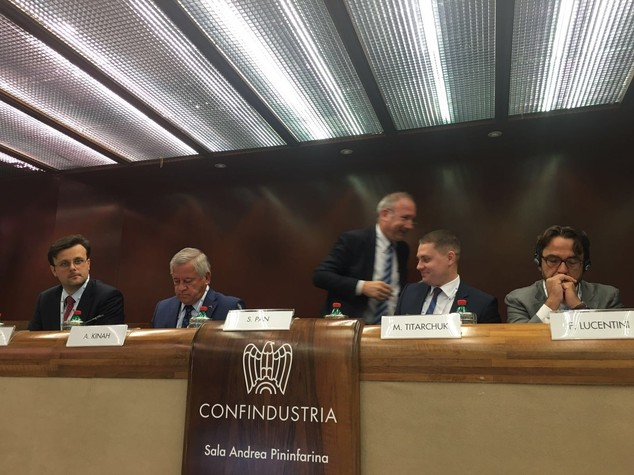 "Italia-Ucraina: Forum Confindustria, ""partnership piu' profonda"""