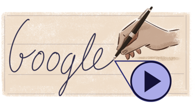 Doodle celebra Biro, l'inventore della penna a sfera