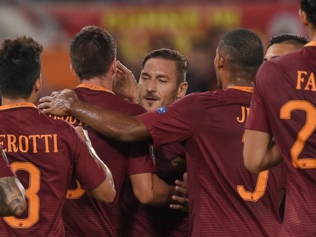 In Europa League Roma rompe il ghiaccio, 4-0 all'Astra Giurgiu