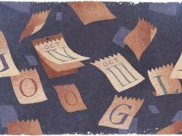 Doodle 'gregoriano' per i 434 anni del calendario
