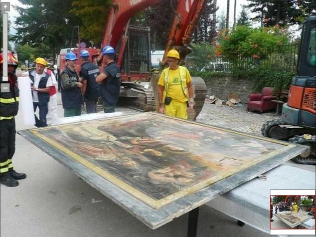 Terremoto, 'salve' le opere di San Michele Arcangelo