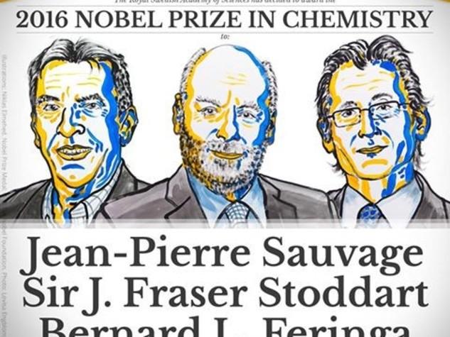 Il Nobel della chimica alle macchine molecolari