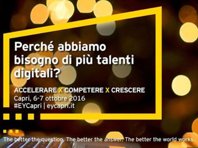 Tic: innovazione come driver crescita, se ne parla a Capri