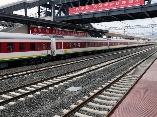 """Etiopia-Gibuti: Cina """"nuova ferrovia modello di cooperazione"""""""
