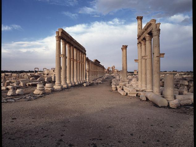Archeologia, Italia restaurerà due altorilievi di Palmira - Video
