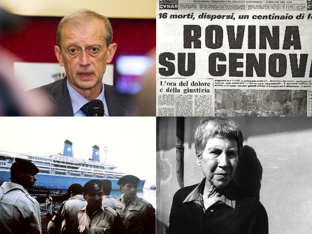 Dall'alluvione di Genova all'addio a Natalia Ginzburg, i fatti del 7 ottobre