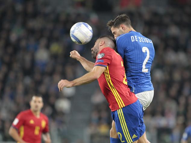 Mondiali2018: liscio di Buffon, De Rossi rimedia, 1-1 con la Spagna