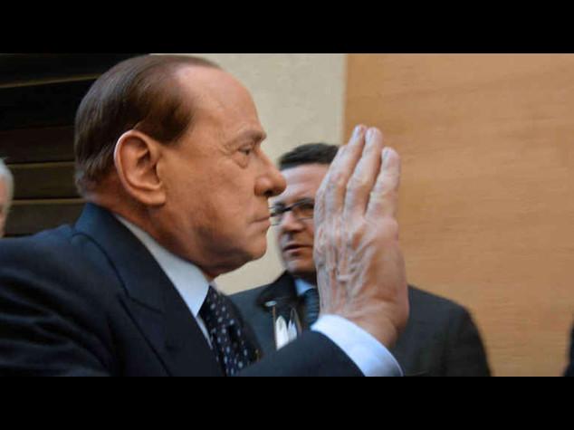 """Berlusconi: ultimo giorno a Cesano Boscone """"Vicende giudiziarie non finiscono mai"""""""